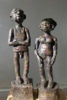 CANICULE / bronze 2/8 / (53 x 30 x 30 cm) / 4000€ (le couple)