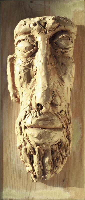 terracotta, bas-relief