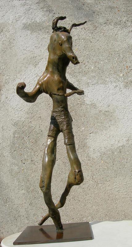 Bronze, mythologie grecque. Minotaure