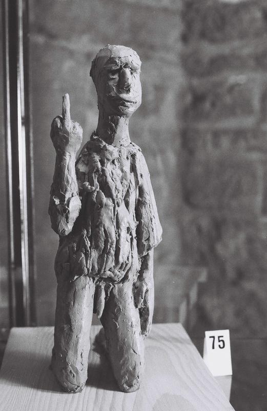The complete revolt, terracotta, private collection