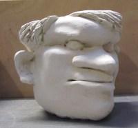 LE CABOCHARD / porcelaine / (13 x 16 x 16 cm) / 400€