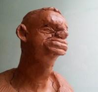 LE GARDIEN / bronze sur commande / (17 x 16 x 13 cm) / 1300€