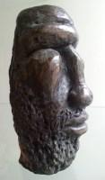 LE GUERRIER / bronze 2/8 sur commande / (15 x 5 x 9 cm) / 1000€