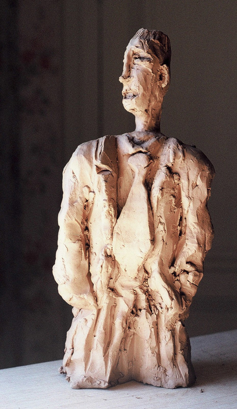 The look, bronze, by special order, (30 x 14 x 7 cm)