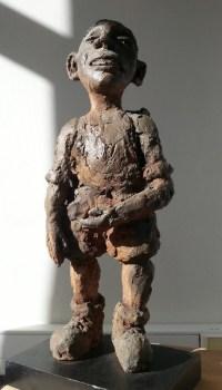 LE RANDONNEUR / bronze sur commande / (48 x 22 x 14 cm) / 2000€