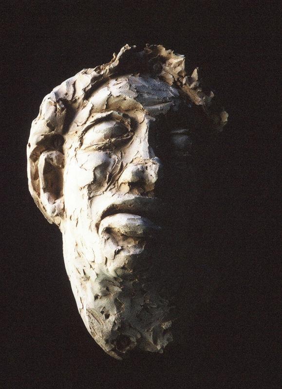 Terracotta, bas-relief, blind
