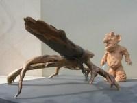 Sculpture d'Art Singulier, en techniques mixtes