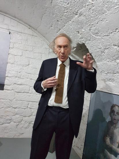 le critique d'art Christian Noorbergen