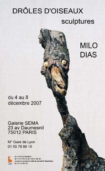 Drôles d'oiseaux, Société d'encouragement aux métiers d'Art (S.E.M.A.)