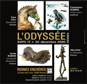 Exposition « L'Odysée » à Rennes