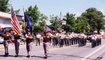 Color Guard & the U.S. Army Band