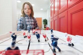 Stolný hokej - zábava pre celú rodinu