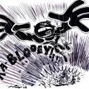 Comic Art: Bruck Chonson vs. The Exploding People