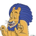 """'Cowardly Lion"""" Development Art for Animated Feature """"Oz"""""""