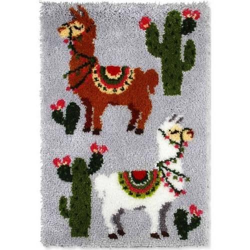 kit tapis point noue 50 x 75 cm lamas