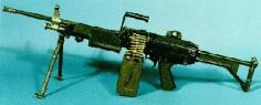 US M249 Squad Automatic Weapon (minimi)