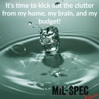 it's time to kick out the clutter