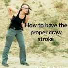 how to have the proper draw stroke