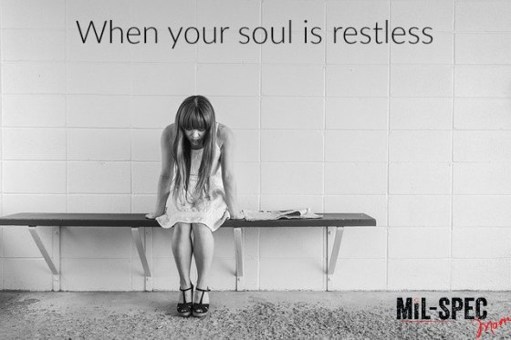 soul is restless