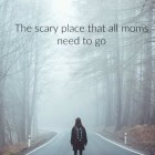 the scary place
