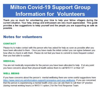 Information For Volunteers V5 020320
