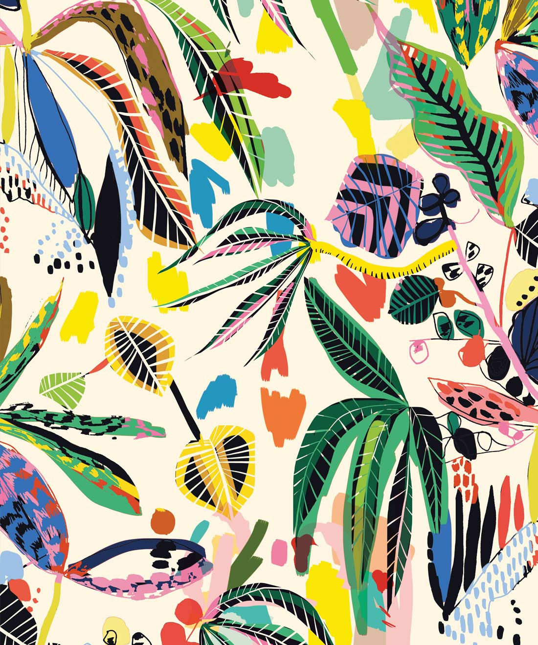 Wilderness Wallpaper Big Bright Bold Milton King Aus