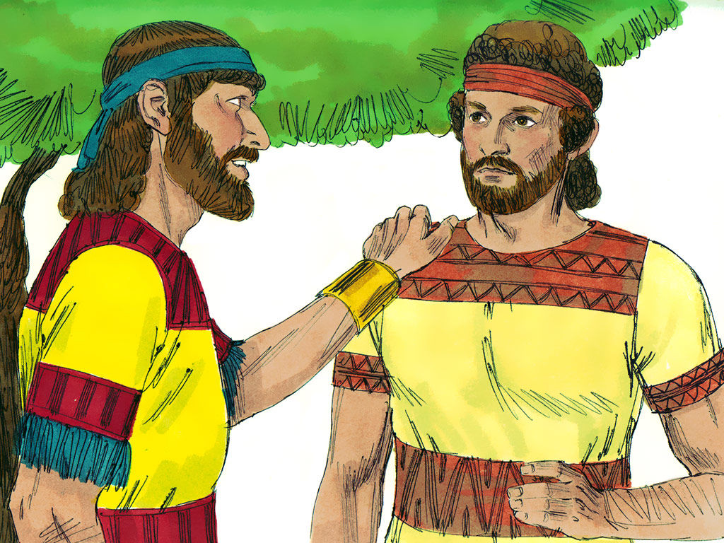 Jonathan and David were covenant friends. They cut a covenant of loyalty and love between themselves and their descendants forever. Mephibosheth was blessed and received grace because of that covenant relationship. We have a covenant with God as well and can freely receive His blessings and goodness because of it.