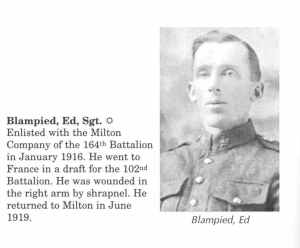 Edward Blampied WW1 663079