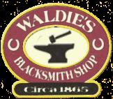 Waldie Blacksmith Shop logo