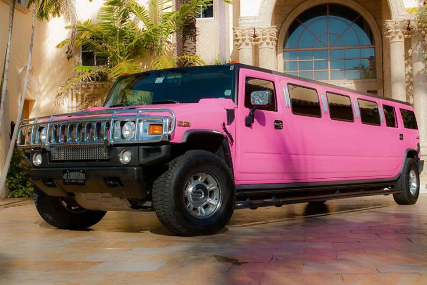 Milton Keynes Pink Hummer Limo Hire