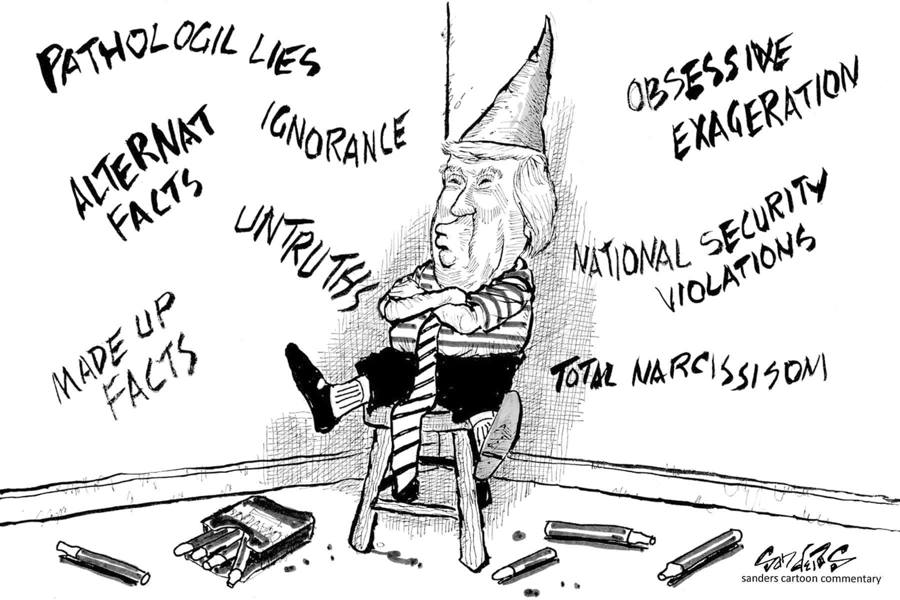 Retired Milwaukee Political Cartoonist Blasts Trump Over