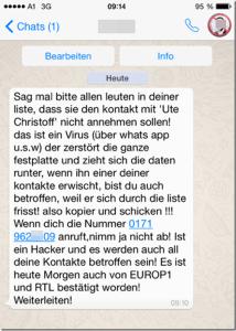 Whatsapp Hoax