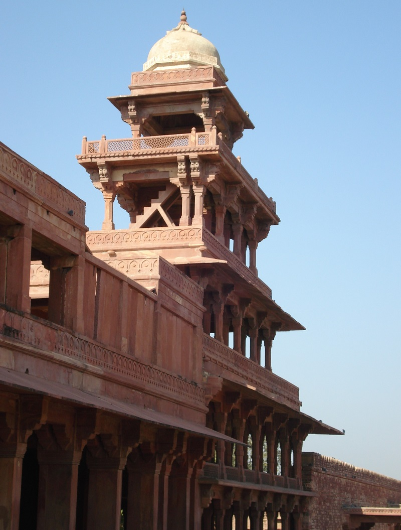 Side View of Panch Mahal