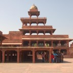 A Glimpse of Modern Architecture: Panch Mahal, India