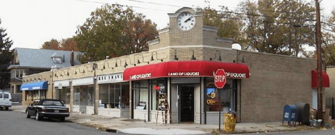 Storefronts after revitalization