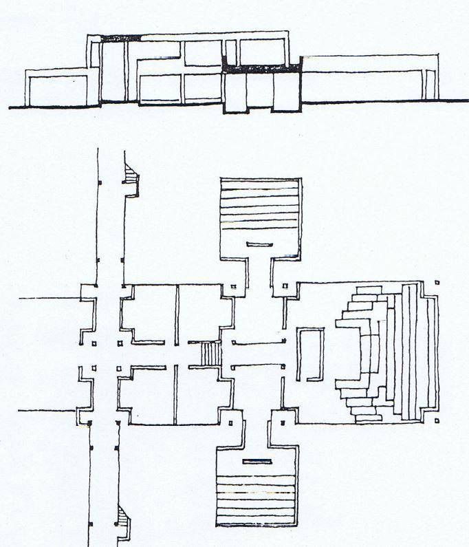IIM Bangalore sketch plans