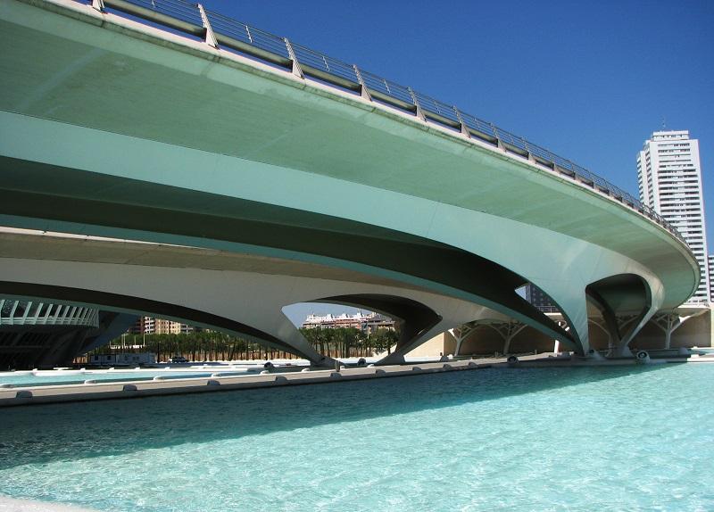 Pont de Montolivet by Santiago Calatrava