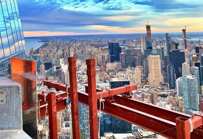 New York City's active construction sites