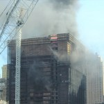 The tragic 2007 fire at the Deutsche Bank Building