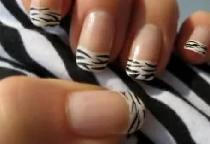Manicura De Cebra Y Manicura De Leopardo Paso A Paso
