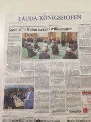 """In der Presse: """"Gäste aller Kulturen sind willkommen"""""""