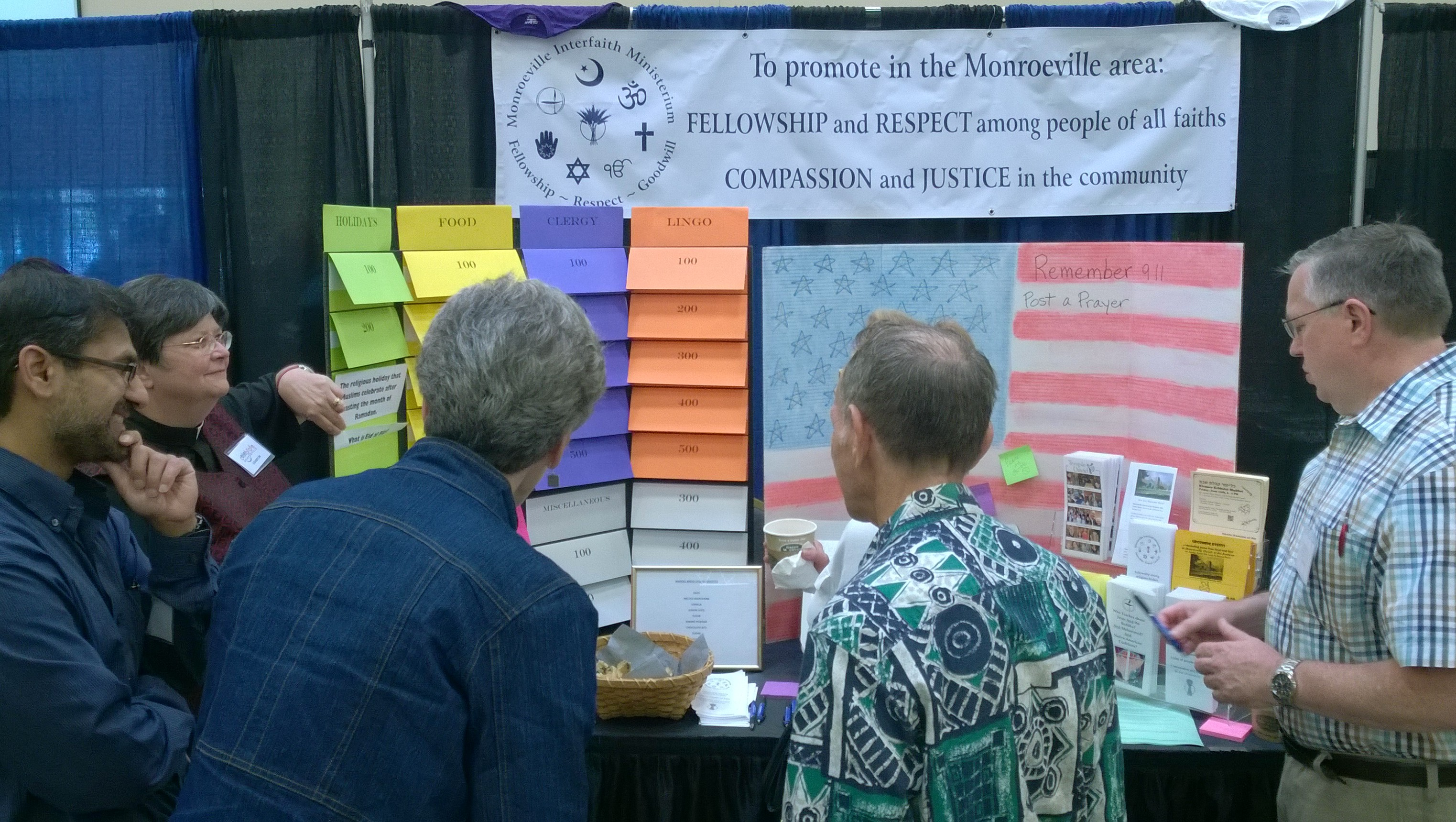 Celebrate Monroeville booth