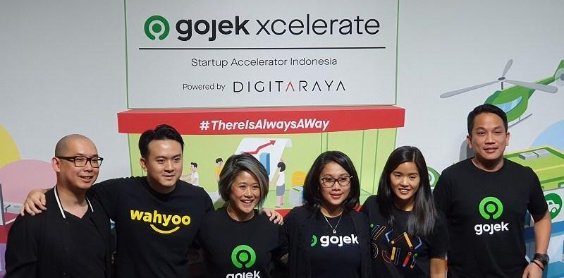 Gojek XCelerate Accelerate Indonesian Startup