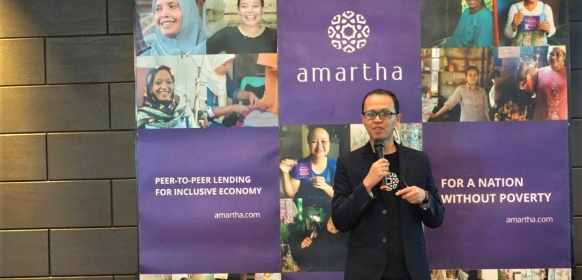 P2P Peer To Peer Landing Business Amartha Fintech startup