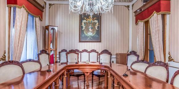 Salón de Cabildos del Ayuntamiento de Guanajuato