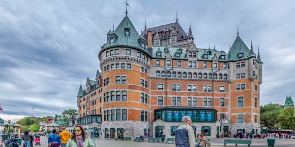 Visitando la ciudad de Quebec Canada