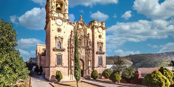 Templo de San Cayetano en La Valenciana