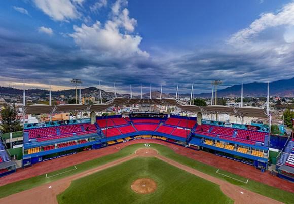 Campo de juego del Estadio Eduardo Vasconcelos