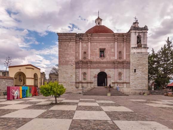 Templo San Pablo de Mitla