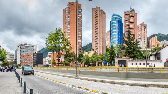 Edificios cercanos al Hotel Tequendama